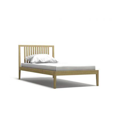 односпальная кровать из массива дуба