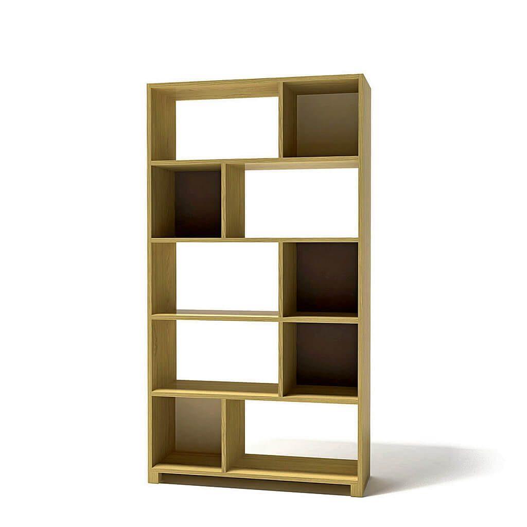 качественная российская мебель - стеллаж для книг деревянный