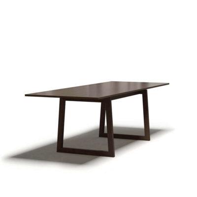 обеденный стол большой цвет орех